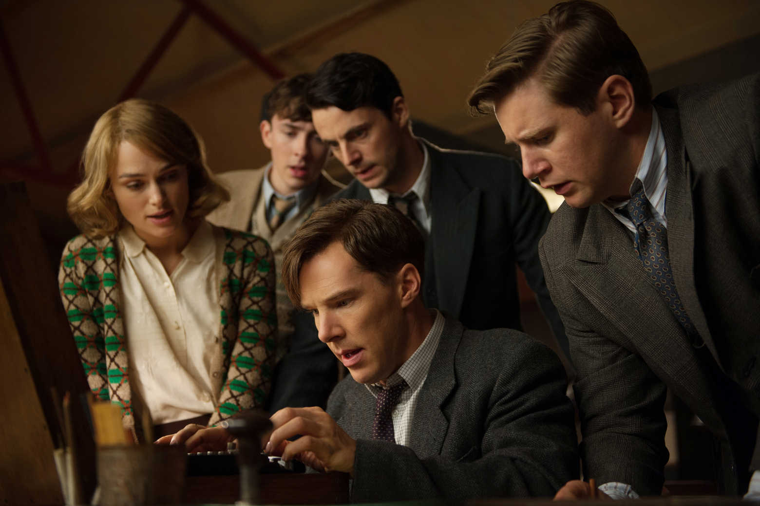 The Imitation Game, Cumberbacht