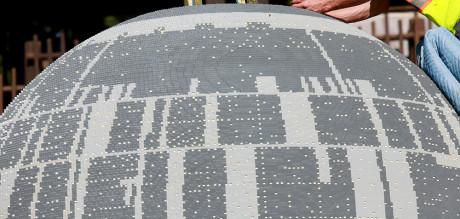 Over 500.000 legoklosser gikk med til å bygge Dødsstjernen.