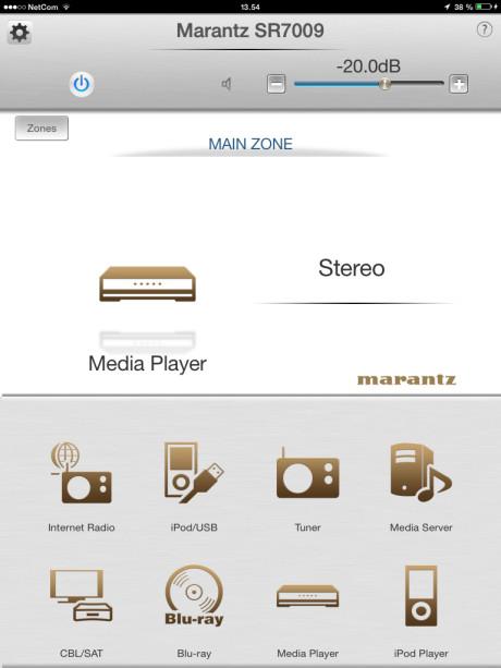 Marantz_SR7009_app