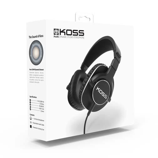 Koss Pro4S hodetelefoner test – Studiolyd på farten!