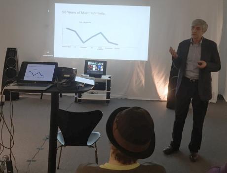 Bob Stuart fra Meridian forklarer hvorfor MQA både låter bedre enn dagens digitalformater og tar mindre plass.