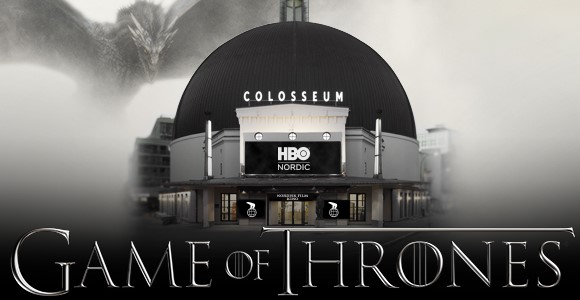 Game of Thrones, førpremiere på Colosseum