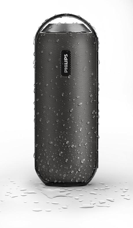 Philips BT6000 tåler regnevær.
