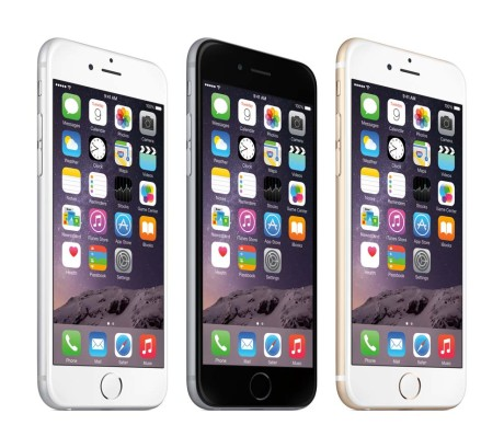 Apple iPhone6_34FL_3-Color-Spaced_Homescreen-PRINT