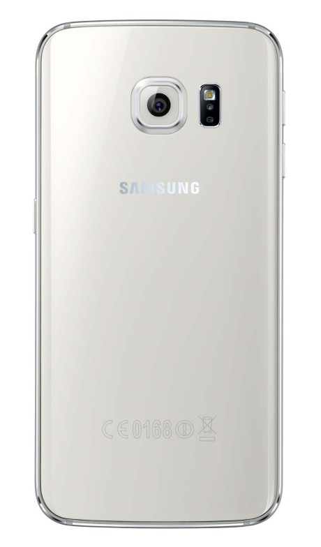 Samsung Galaxy S6 Edge_Back_White Pearl