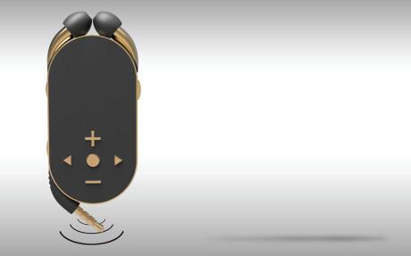 Øreproppene bruker valgfritt kabel eller trådløs Bluetooth med NFC-tilkobling.