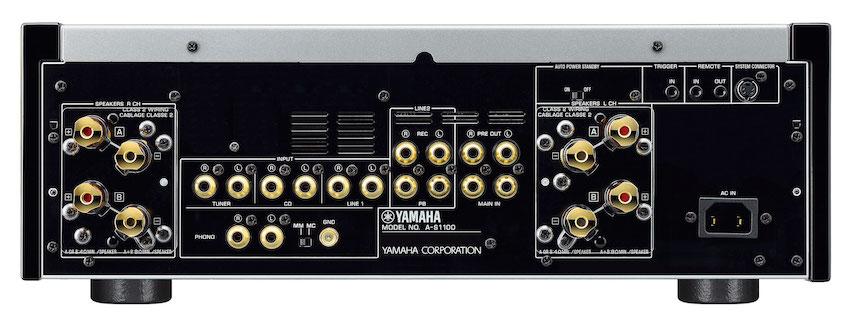 Yamaha A-S1100 bak