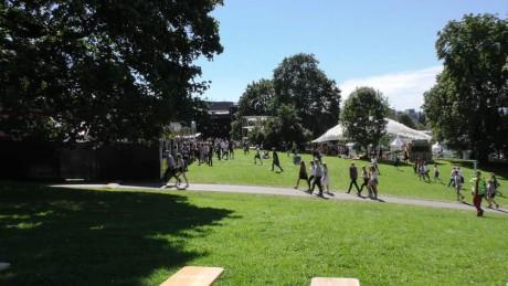 Tøyenparken er perfekt for festival.