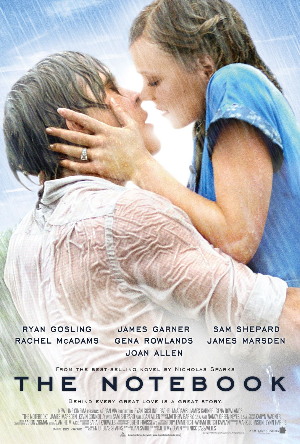 The Notebook, poster