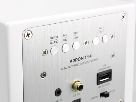 Audio Pro T14 White Backside 02