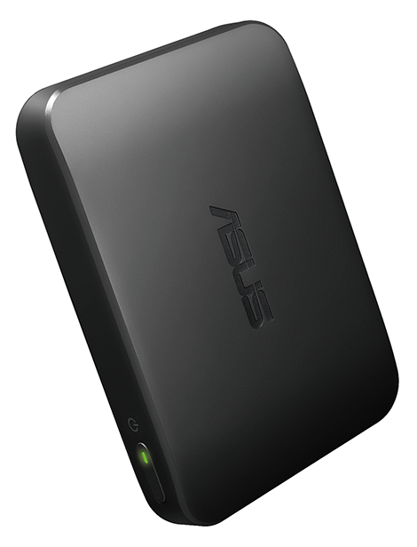 ASUS Clique R100 wireless music streamer_45 degree
