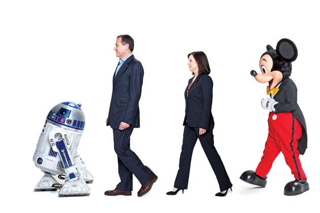 Lucas selger Star Wars til Disney
