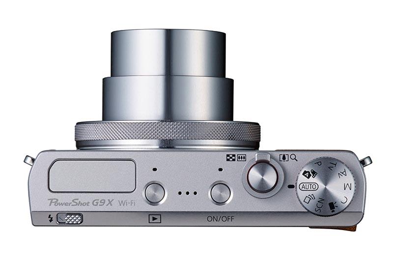 PowerShot G9 X SL Top Lens out