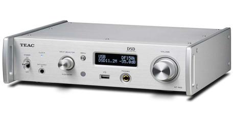 Nettverksspilleren NT-503 støtter høyoppløste musikkformater i tillegg til strømmetjenester. Foto: TEAC