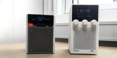 Sammenlignet med Pinell GO+ er Intono-radioen litt høyere. Men vekten er akkurat den samme, noe som gir inntrykk av at Pinell er noe mer solid bygget.