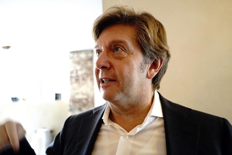 Mauro Grange, CEO i Fine Sounds Group. (Foto: Lasse Svendsen)