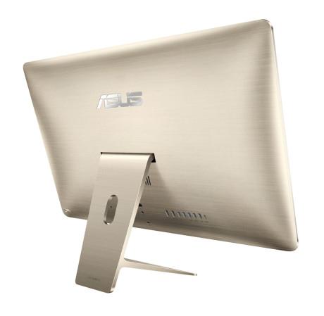 Asus har skult mye til Apple når det gjelder design. Bortsett fra navnetrekket kunne dette ha vært baksiden av en iMac. Inklusive de avrundede kurvene og antall porter.
