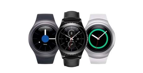 Samsung Gear S2 er en ganske stilig klokke. Foto: Samsung