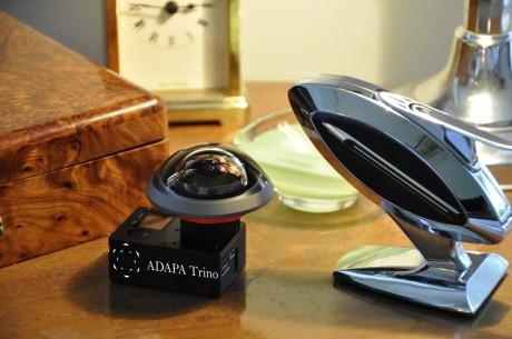 Ali Zareiee og ADAPA Trino utvikler 360-graders actionkameraer av den seriøse typen. Foto: ADAPA Trino AS