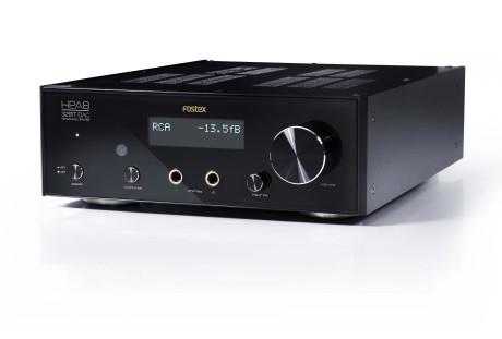 Med både analoge og digitale inn- og utganger, er Fostex HP-A8 en komplett hodetelefonforsterker med DAC. (Foto: Produsenten)