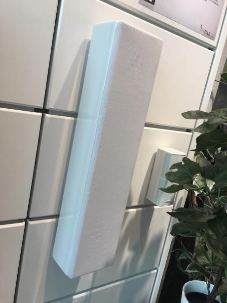 Heng noen skikkelige hjemmekinohøyttalere på veggen! MK Sound MP-7 kan brukes som både front- og senterhøyttaler. Prisen er 5.290 kr / stk.