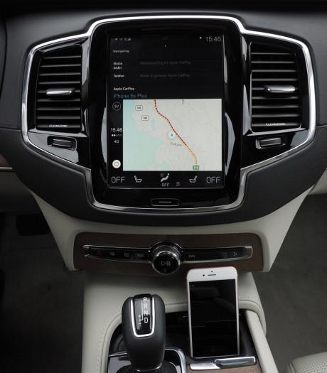 Favoritten er navigeringsløsningen i iOS og CarPlay, som faktisk er bedre enn i de fleste biler. Foto: Lasse Svendsen