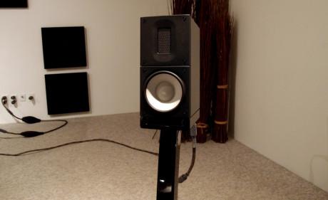 Den lille X1 har mye større lyd enn man tror når man ser på den. Fyller lett et stort rom med lyd! Foto: Geir Gråbein Nordby