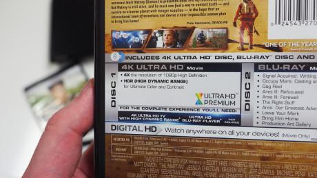 """For best utbytte av det nye UHD Blu-ray formatet bør du ha en """"Ultra HD Premium"""" sertifisert TV."""