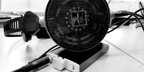 FiiO Q1 driver med letthet vanskelige hodetelefoner som for eksempel Audio-Technica ATH-R70x. Foto: Geir Gråbein Nordby