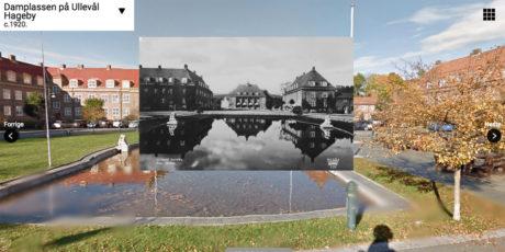 Damplassen på Ullevål Hageby har fått stå nærmest uforandret siden 1920.