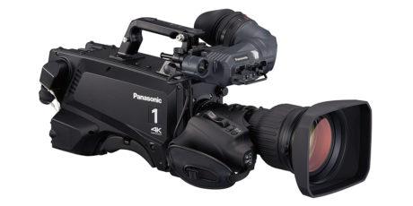 Panasonic AK-UC3000 er kameraene som i første omgang står for kringkastingen av fotball i UHD. Foto: Panasonic