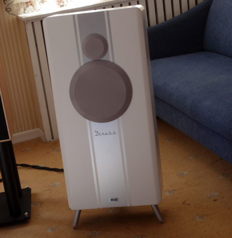 Audio Art spilte på høyttalerne Heco Direkt. Foto: Geir Gråbein Nordby