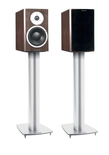Den mest optimale lyden får du med et par gulvstativer. (Foto: Produsenten)