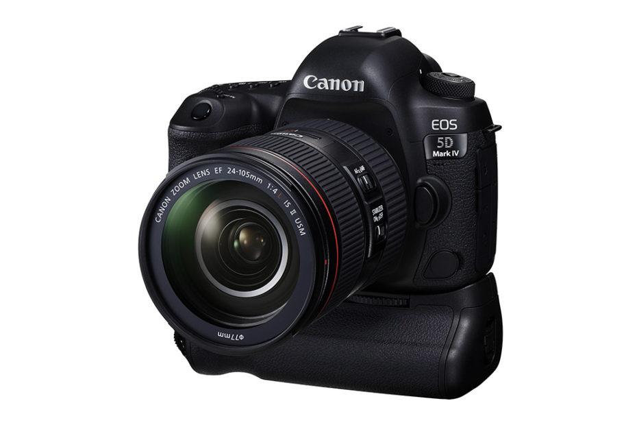 (Foto: Produsenten) Det finnes et batterigrep til kameraet, kalt BG-E20