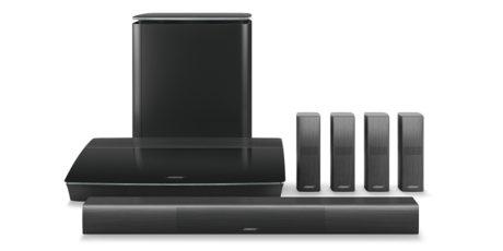 Bose Lifestyle 650 er et stilfullt surroundanlegg. Foto: Bose