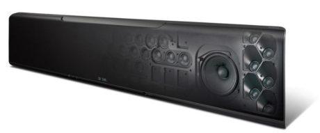 YSP-5600 har hele 44 høyttalerelementer, for å skape en holografisk og dynamisk lydgjengivelse. Foto: Yamaha
