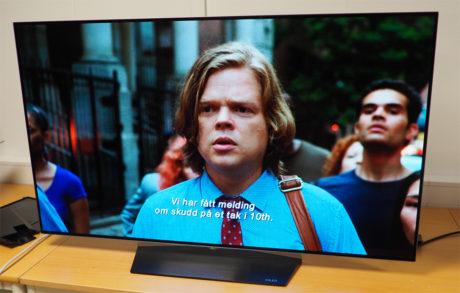 """LG OLED55B6 gir svært god bildekvalitet. Her fra Netflix-serien """"Daredevil"""" som vises i ekte 4K-oppløsning."""