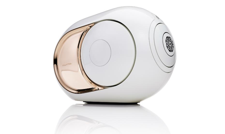 Gold Phantom er den mest ekstreme Devialet-høyttaleren noensinne. Foto: Devialet