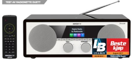 Radionette Duett DAB+