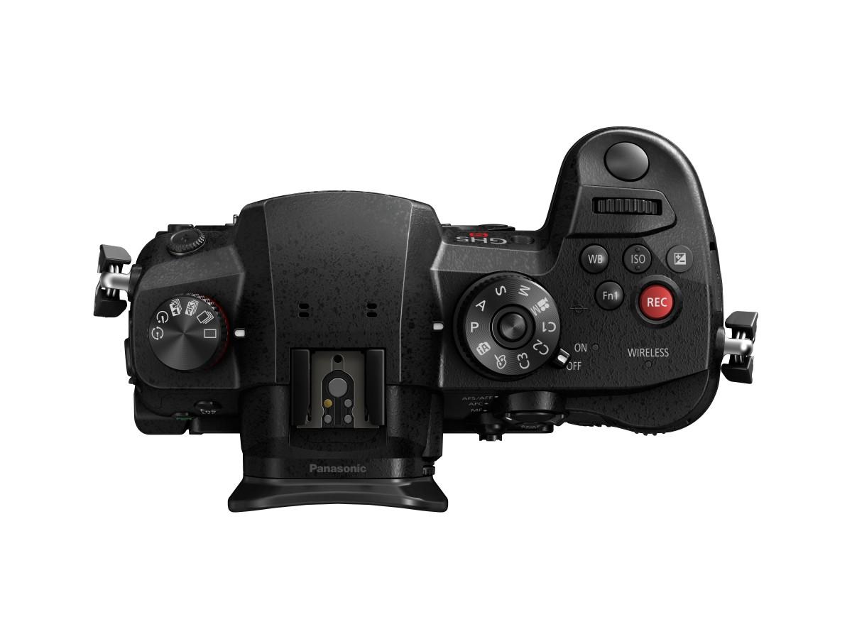panasonic lumix gh5s produktbild top - Lysfølsomt Panasonic-kamera